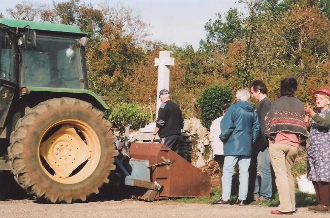Croix des Templiers à Lespinassière - 2007