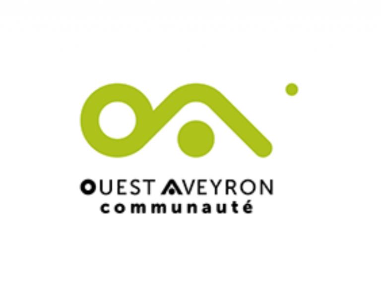 Logo Ouest Aveyron Communauté